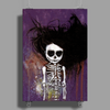 Skeleton I by Rouble Rust Poster Print (Portrait)