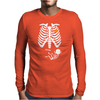 Skeleton Ninja Mens Long Sleeve T-Shirt