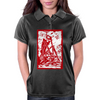Skeleton on pile of skulls Womens Polo