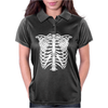 Skeleton Torso Womens Polo