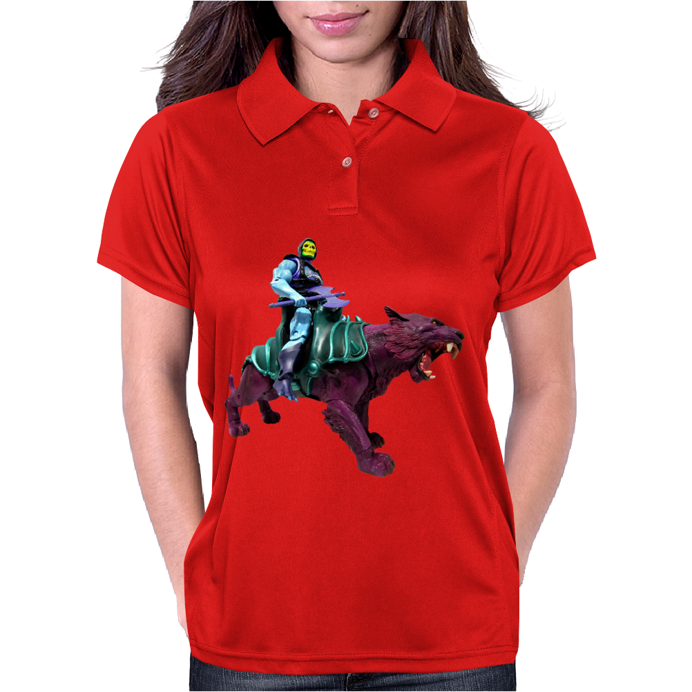 Skeletor Panthor Moty He Man Womens Polo