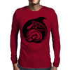 skelewhale Mens Long Sleeve T-Shirt