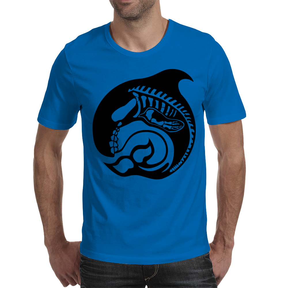 skelewhale Mens T-Shirt