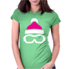 Ski Goggles And Hat Womens Fitted T-Shirt