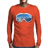 Ski Goggles copy Mens Long Sleeve T-Shirt