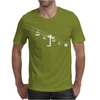 Ski Lift Mens T-Shirt