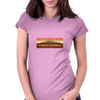 Ski Mount Olympus Womens Fitted T-Shirt