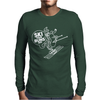 Ski Your Buns Off HotDog Skiing Mens Long Sleeve T-Shirt