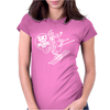 Ski Your Buns Off HotDog Skiing Womens Fitted T-Shirt