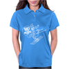 Ski Your Buns Off HotDog Skiing Womens Polo
