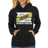 Skiing Thing Wouldn't Understand. Womens Hoodie