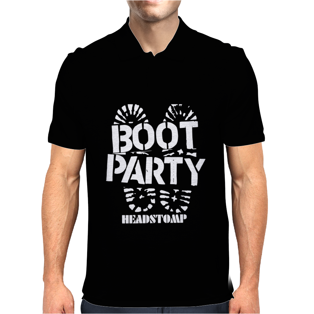 Skinhead Boot Party Mens Polo