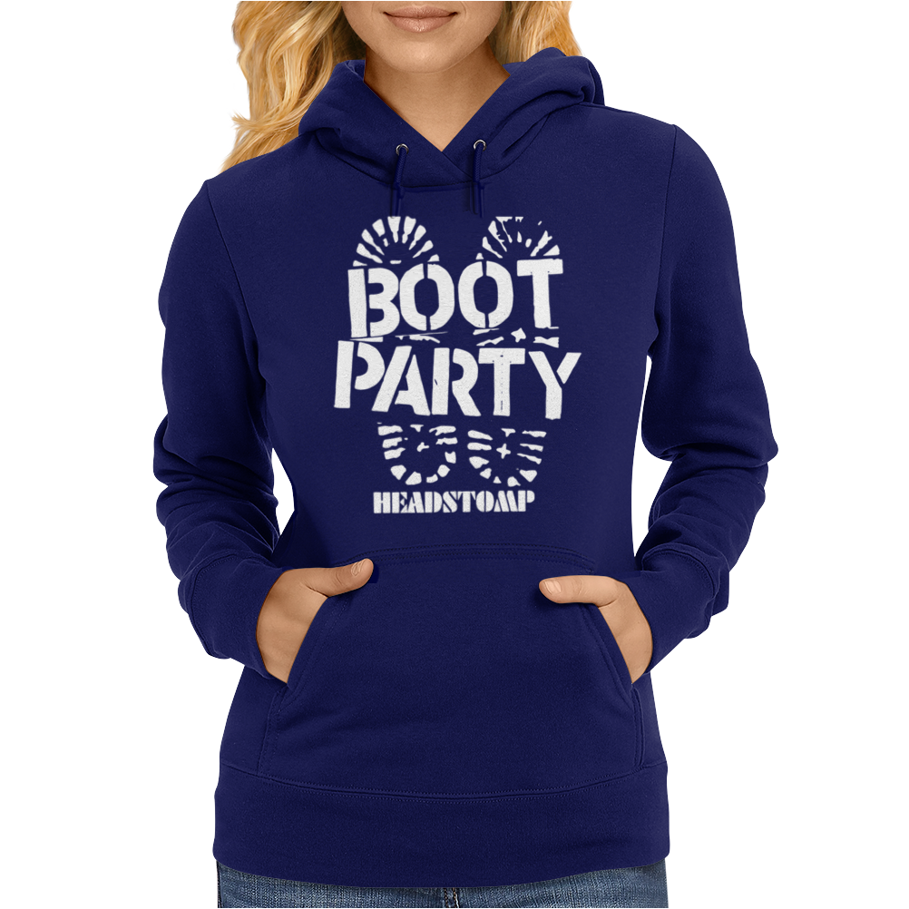 Skinhead Boot Party Womens Hoodie