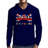 Skinhead Union Jack, Ideal Birthday Gift Or Present Mens Hoodie