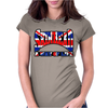 Skinhead Union Jack, Ideal Birthday Gift Or Present Womens Fitted T-Shirt
