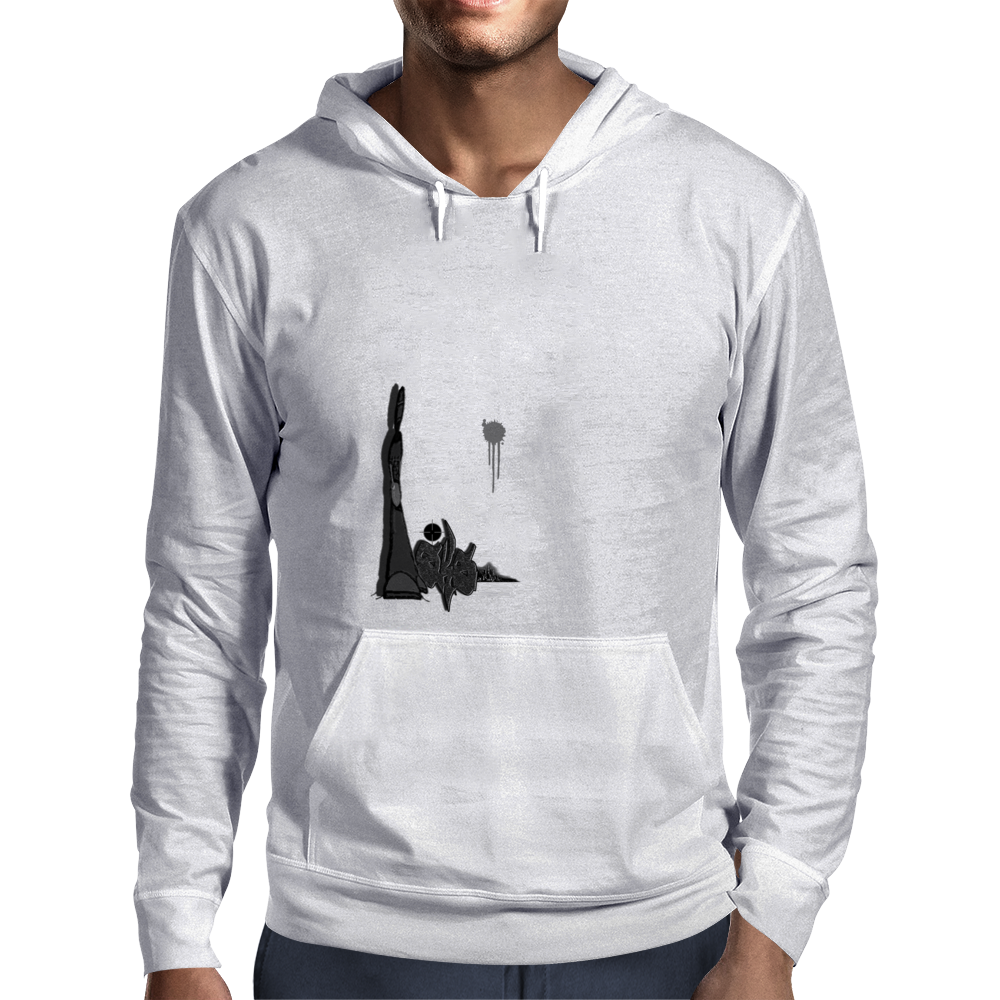 SKS Kill Shot Graffiti Mens Hoodie