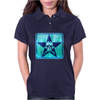 skull and bones (blue) Womens Polo