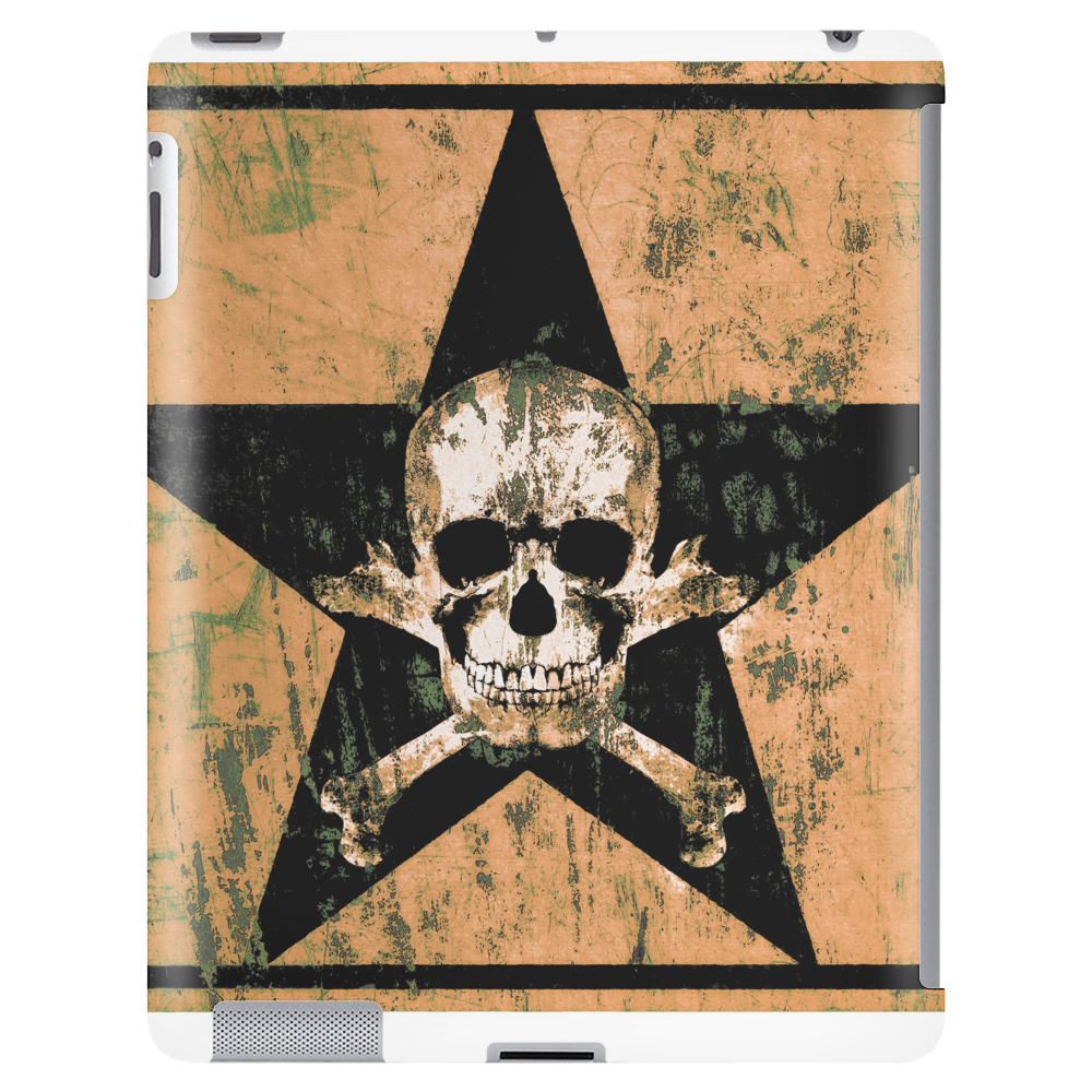 skull and bones Tablet (vertical)