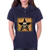 skull and bones Womens Polo