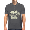 Skull and Heart Mens Polo