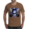 Skull And Wings And Guitars Mens T-Shirt