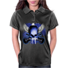 Skull And Wings And Guitars Womens Polo
