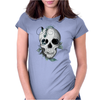 Skull Boho Womens Fitted T-Shirt