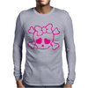 Skull Girly Hoodie Mens Long Sleeve T-Shirt