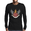 SKULL HEART 2 Mens Long Sleeve T-Shirt