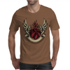 Skull heart Mens T-Shirt