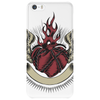 Skull heart Phone Case