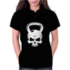 Skull Kettlebell Cross Fit Womens Polo