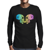 Skull kiss Mens Long Sleeve T-Shirt