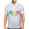Skull kiss Mens Polo