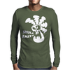 Skull Rasta Mens Long Sleeve T-Shirt