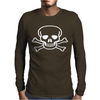 SKULL rock music gift NEW Mens Long Sleeve T-Shirt
