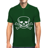 SKULL rock music gift NEW Mens Polo