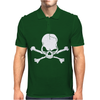 Skull Skeleton Mens Polo