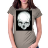 skull study No.4 Womens Fitted T-Shirt