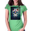 Skull Style Womens Fitted T-Shirt