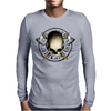 Skull Tribal Axe A Mens Long Sleeve T-Shirt