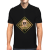 Skull warning Mens Polo