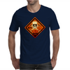 skull warning Mens T-Shirt