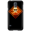skull warning Phone Case