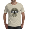 Skull with glasses Mens T-Shirt