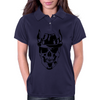 Skull with hat Womens Polo