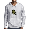 skull with long hair Mens Hoodie