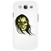 skull with long hair Phone Case
