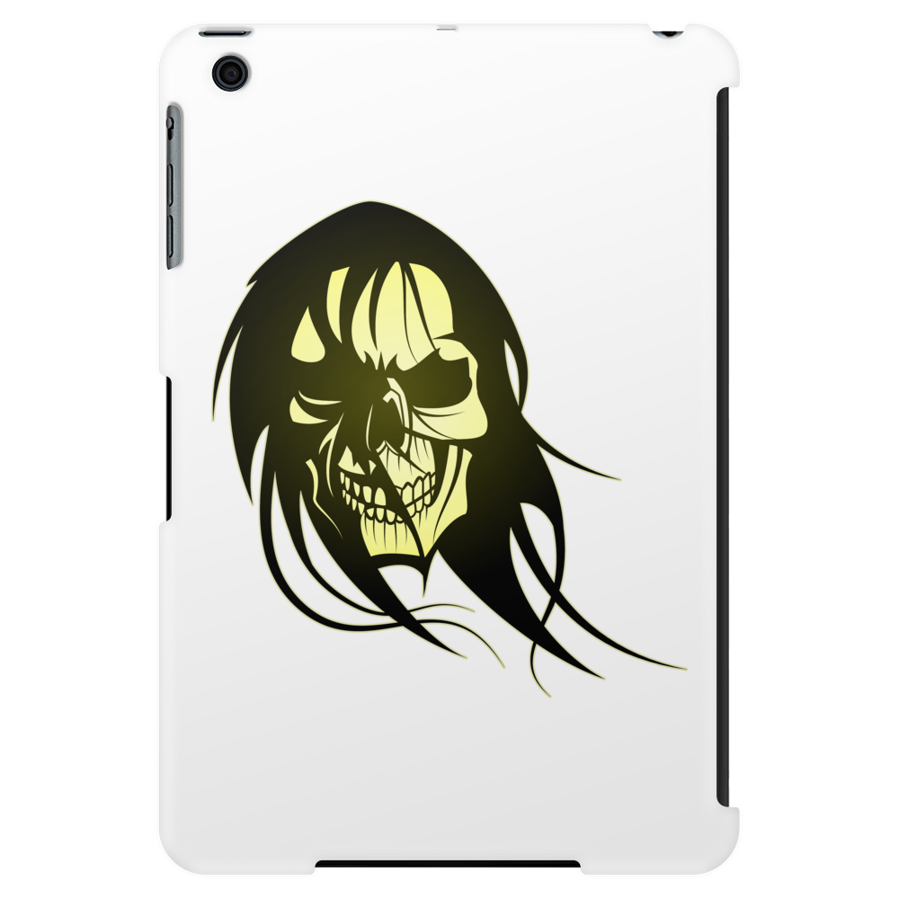 skull with long hair Tablet (vertical)