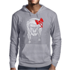 Skull With Pigtails Mens Hoodie